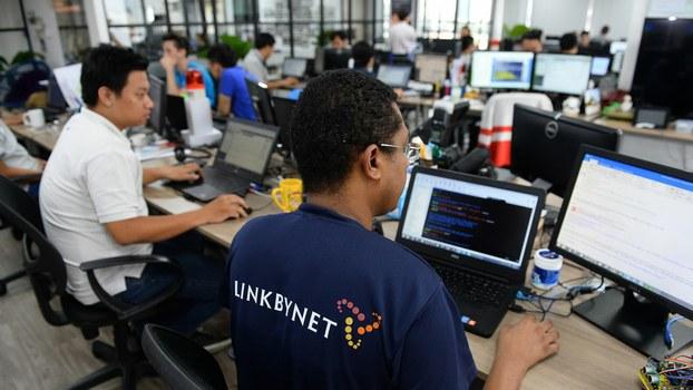 Ảnh minh họa. Một công ty công nghệ thông tin do nước ngoài đầu tư tại thành phố Hồ Chí Minh.