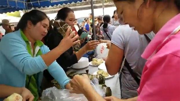 Khoảng 400 người Thượng ở Thái Lan tụ họp đón Tết Canh Tý.