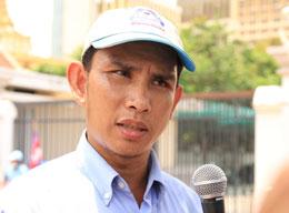 Ông Om Samart, lãnh đạo tổ chức nhân quyền LICADO. Photo Quốc Việt RFA