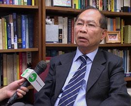 Giáo sư Nguyễn Mạnh Hùng, hiện công tác tại khoa Quan hệ Quốc tế trường đại học George Mason, Hoa Kỳ. RFA