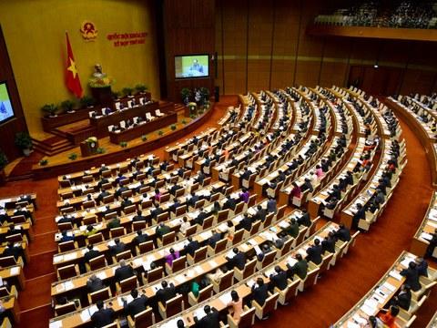 Ảnh minh họa: Một cuộc họp Quốc hội trước đây.
