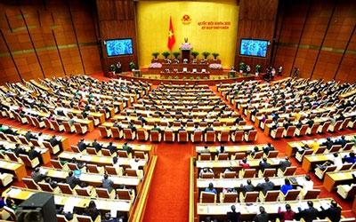 Quốc hội Việt Nam khóa 13 kỳ họp thứ chín ở Hà Nội