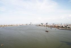 Thành phố Đà Nẵng, ảnh chụp năm 2011. RFA PHOTO.