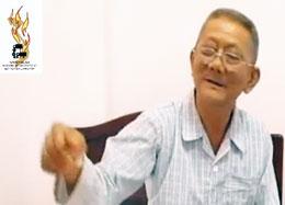 Người tù thế kỷ Nguyễn Hữu Cầu sau khi được thả.