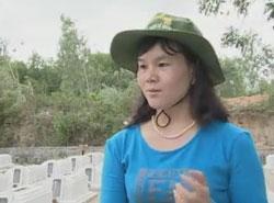 Nhà ngoại cảm Phan Thị Bích Hằng. Courtesy xuangiao.com