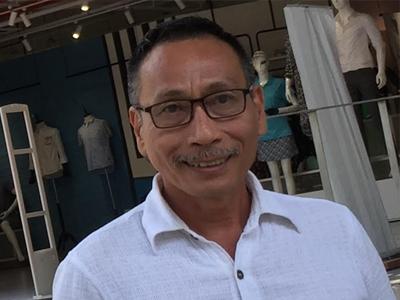 Nhà báo Nguyễn Ngọc Già.
