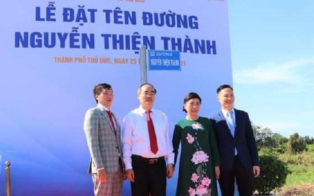 Những ý kiến trái chiều về việc lấy tên cha cựu Bí thư Nguyễn Thiện Nhân đặt tên đường ở Thủ Thiêm