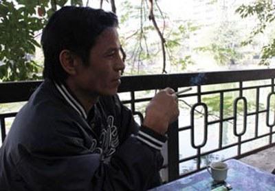 Blogger JB Nguyễn Hữu Vinh, ảnh chụp trước đây tại Hà Nội.