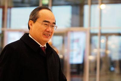 Ông Nguyễn Thiện Nhân hiện giữ chức Bí thư thành ủy thành phố Hồ Chí Minh.