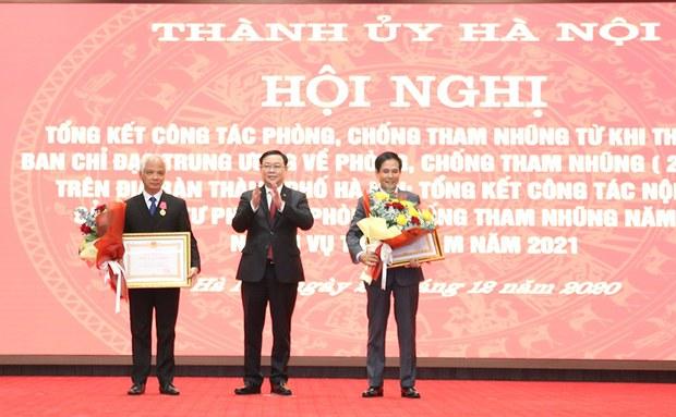 Hà Nội lại báo cáo không phát hiện vụ tham nhũng nào trong hơn 10 năm