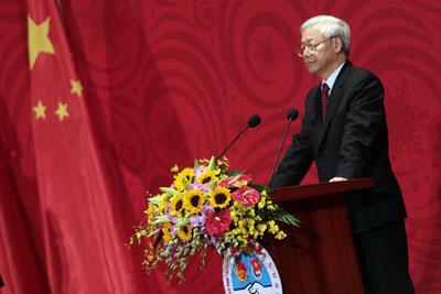 TBT ĐCS VN Nguyễn Phú Trọng. AFP photo