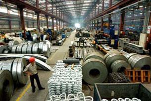 Khâu sản xuất trong một doanh nghiệp thép xuất khổ. Source vnn