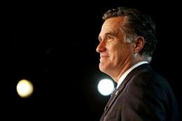Ông Mitt Romney...Cuộc tranh cử đã kết thúc. AFP