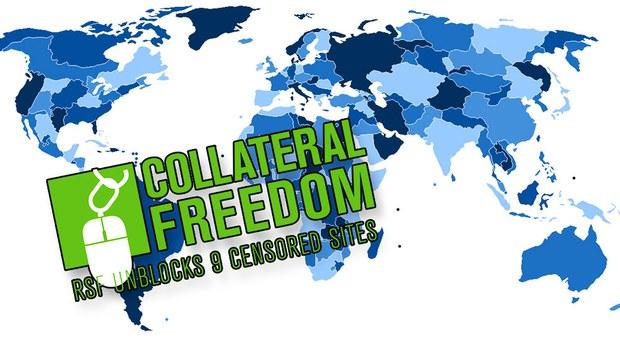 Chiến Dịch Hỗ trợ Tự Do Mạng của Tổ chức Phóng viên không biên giới (RSF)