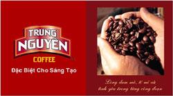 Thương hiệu cà phê Trung Nguyên. Photo courtesy of 'ehow.vn'.