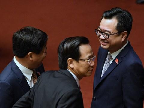 Hình minh họa: Ông Nguyễn Thanh Nghị (ngoài cùng bên phải).
