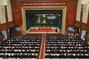 Phiên họp Quốc hội khóa XIII.