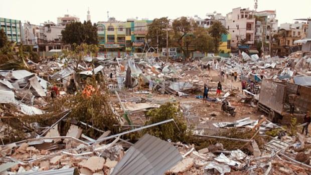 Dư luận trong và ngoài nước chỉ trích Chính quyền Việt Nam trong vụ cưỡng chế đất ở vườn rau Lộc Hưng hồi tháng 01/19.