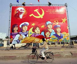 Đảng ở mọi nơi trong quần chúng. AFP