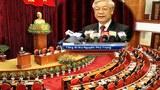 Tổng Bí thư Nguyễn Phú Trọng tại Hội nghị Trung ương 10