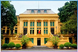Ảnh minh họa. Trụ sở Toà án nhân dân tối cao ở Hà Nội. Source toaan.gov.vn