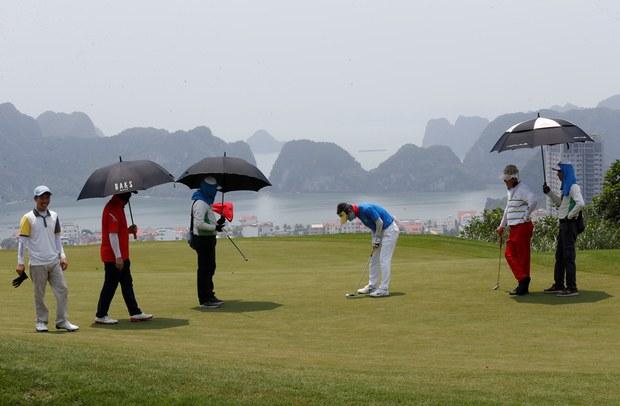 Hình minh hoa: Sân golf của Tập đoàn FLC ở Hạ Long