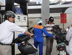 Một trạm bán xăng lẻ của Petrolimex. RFA photo