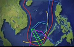 Vùng chủ quyền của các nước tranh chấp trên biển Đông- RFA screenshot