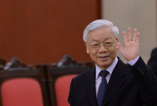 Hình minh họa. Tổng Bí thư, Chủ tịch nước Nguyễn Phú Trọng ở Hà Nội hôm 6/10/2016