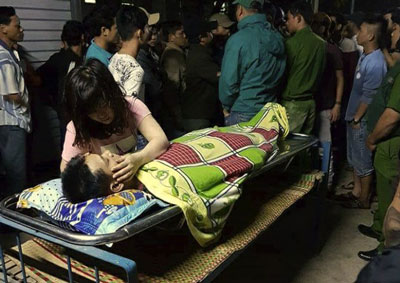Cơ quan pháp y tỉnh Bình Định kết luận anh Phạm Đăng Toàn chết do chạy quá sức.