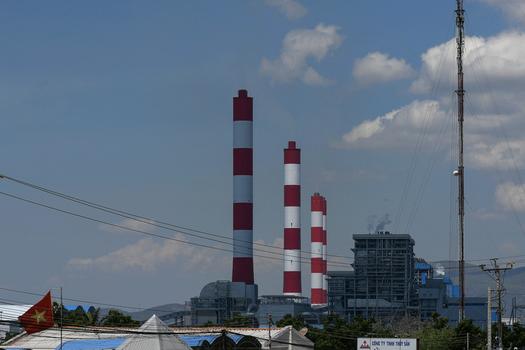 Hình minh họa. Nhà máy nhiệt điện Vĩnh Tân ở Bình Thuận (hình chụp hôm 23/4/2019)