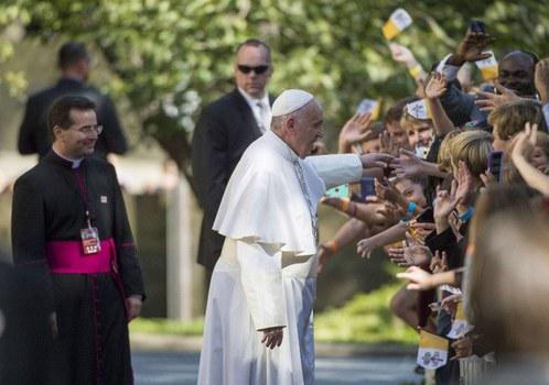 Đức Thánh Cha Phanxicô tại Washington, DC ngày 23/9/2015.