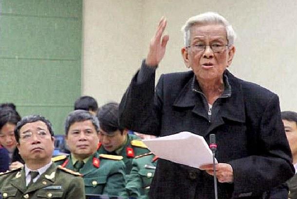 Nhà báo Hữu Thọ, nguyên Trưởng ban Tư tưởng văn hoá Trung ương