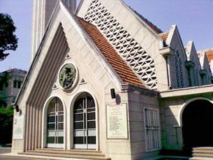 Nhà thờ Dòng Chúa Cứu Thế Sài Gòn ở đường Kỳ Đồng. RFA file