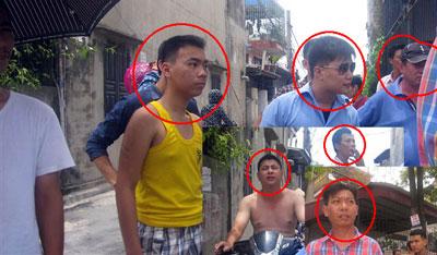 Công an chìm và an ninh bao vây nhà cô Phan Thanh Nghiên hôm 2 tháng 6, 2015  sau đó tấn công đánh hội đồng cô Nghiên