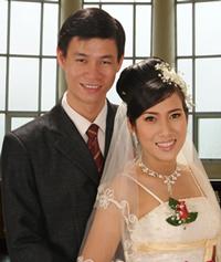Ảnh cưới chị Tuyền và anh Nhựt. Photo courtesy of baomoi.com
