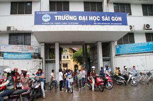 Trường Đại Học Saigon. RFA