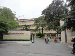 Đại học Bách Khoa Hà Nội, ảnh chụp ngày 04-10-2011. RFA PHOTO.