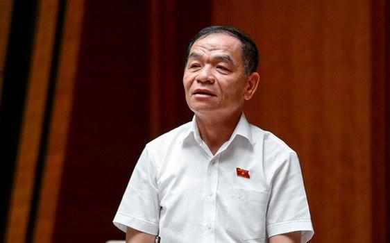 Đại biểu Quốc hội Lê Thanh Vân, Ủy viên Thường trực Ủy ban Tài chính- Ngân sách.