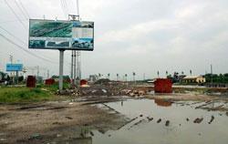 Khu vực dự án khu đô thị Kim Sơn tại xã Kim Sơn, huyện Đông Triều, tỉnh Quảng Ninh, ảnh chụp hôm 25/06/2012. Courtesy quangninh.com.vn