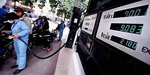 Một cửa hàng xăng dầu ở Hà Nội sáng 30/3/2011