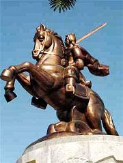 Tượng  Vua Quang Trung ở Bình Định