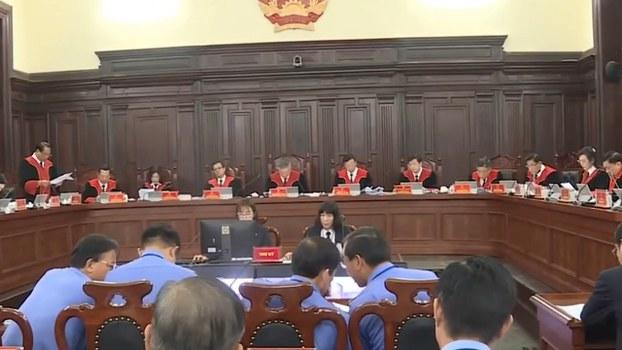 Phiên giám đốc thẩm y án tử hình anh Hồ Duy Hải.