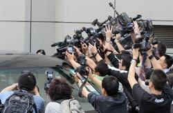 Các nhà báo nước ngoài tại Hồng Kông ngày 11/5/2009, ảnh minh họa. AFP