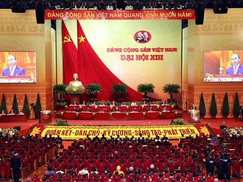Đại hội 13 Đảng Cộng sản Việt Nam nhóm họp phiên trù bị ở Hà Nội hôm 25/1/2021