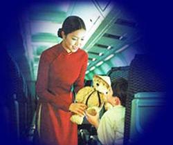 Hình ảnh đẹp về các tiếp viên hàng không Việt Nam chịu nhiều tổn hại sau hàng loạt các vụ tai tiếng buôn lậu bị bắt ở nước ngoài. (Hình chỉ mang tính minh họa).  RFA file photo