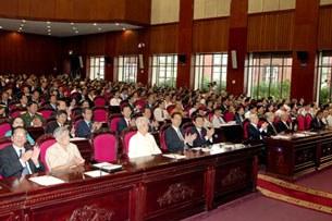 Phiên họp đầu tiên của quốc hội khóa 13.