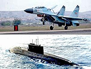 Quân đội Việt Nam: Chiến đấu cơ Su-30MK2 và tàu ngầm
