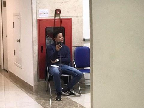 Người thanh niên canh cửa nhà Nhà báo Huỳnh Ngọc Chênh
