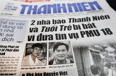 Báo Thanh Niên đưa tin vụ PMU 18 (năm 2010)